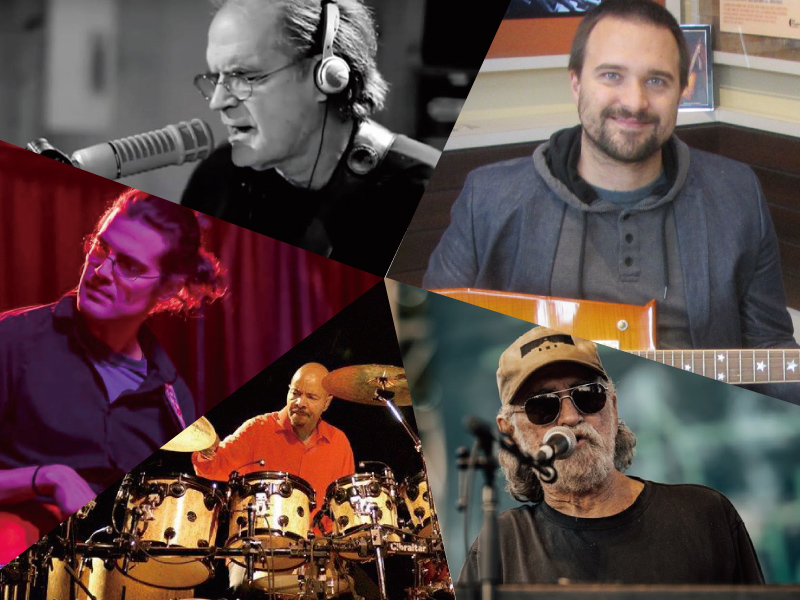 """Muscle Shoals & Nashville Connection"" ロブ・ガルブレイス, ドニー・フリッツ, チェスター・トンプソン, アンドレアス・ワーナー & ルーク・イースターリング"